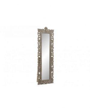 Miroir sur pied dressing bois sculpté