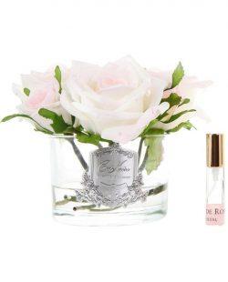 5 roses pink blush