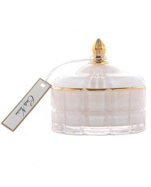 Bougie Parfumée Art Déco - Thé aux Fleurs de Jasmin 185gr