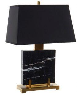 LAMPE DE TABLE MARBRE NOIR LA-162740_24