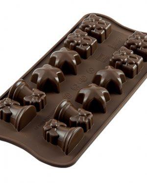 Moule à chocolat - 12 Forme de Noël -