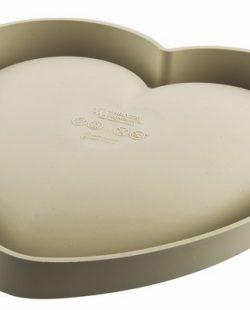 Moule en silicone Batticuore cœur de la ligne 3design de SILIKOMART