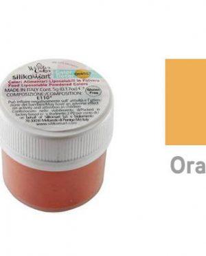 Colorant alimentaire hydrosoluble en poudre 25gr Orange - Silikomart (2)