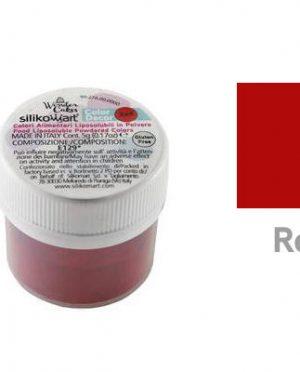 Colorant alimentaire hydrosoluble en poudre 25gr Rouge - Silikomart (2)