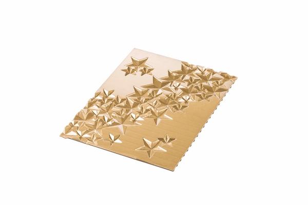 Kit bûches glacée étoiles pour bûche de Noël Silikomart
