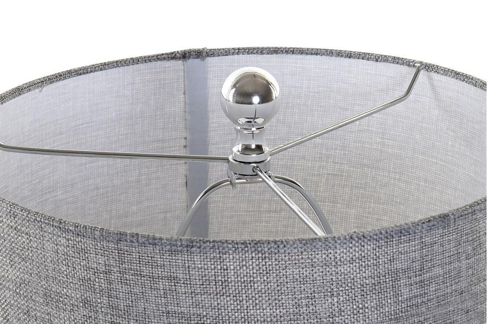 Lampe de table verre bleu (5)