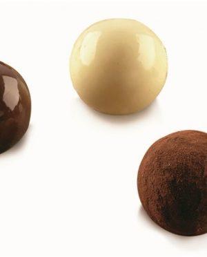 Moule à chocolat - 15 cavités Tartufino - en silicone Silikomart (Copier)