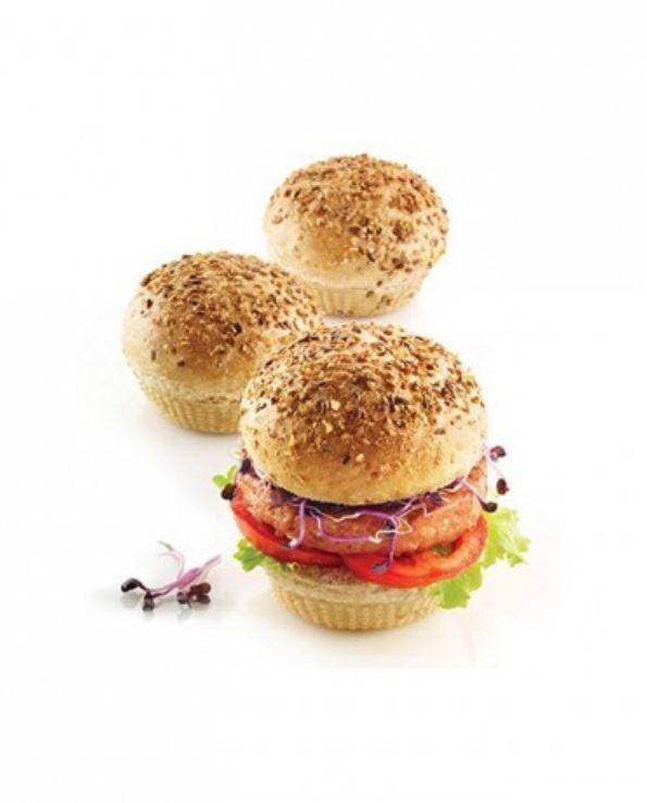 Moule burger bread