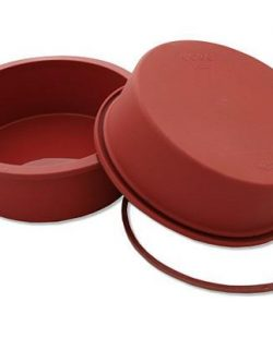 Moule forme Ronde genoise Silicone Terre Cuite