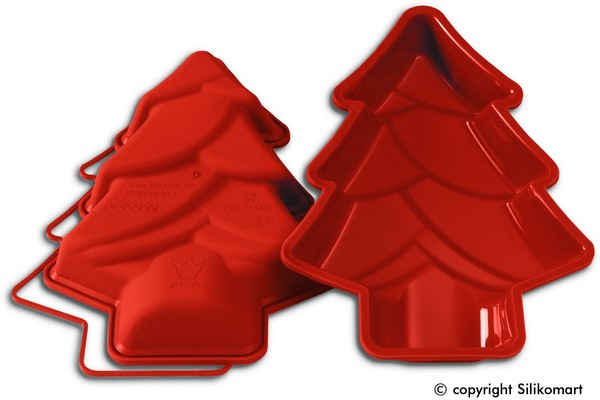 moule forme sapin noel silicone