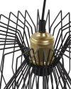 Plafonnier contemporain métal noir (3)