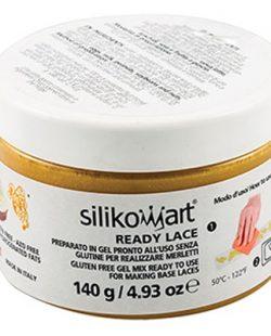 Préparation en gel pour dentelle alimentaire Doré SANS gluten 140gr - Silikomart