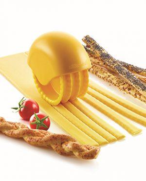 Roue découpe pâte Bake 'N Roll pour gressins ou tagliatelles - Silikomart