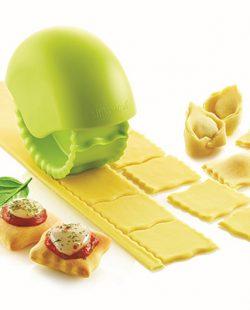 Roue découpe pâte Bake 'N Roll pour ravioles -Vert - Silikomart