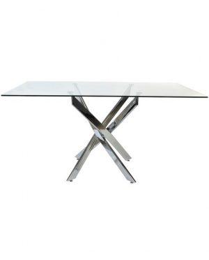 TABLE VERRE METAL TRANSPARENT MB-153021-6_7
