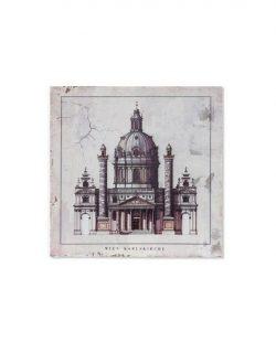 Tableau bois Eglise Modèle 1 40x3.5x40