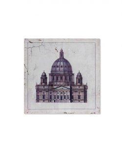 Tableau bois Eglise Modèle 2 40x3.5x40