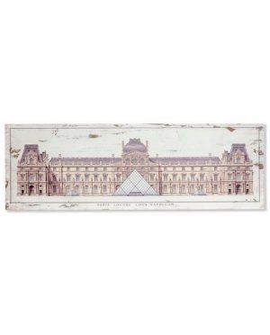 Tableau bois musée Modèle 1 120x3.5x40