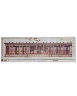 Tableau bois musée Modèle 2 120x3.5x40