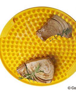 Tapis de cuisson anti-adhésif en silicone - rond Ø260 (2)