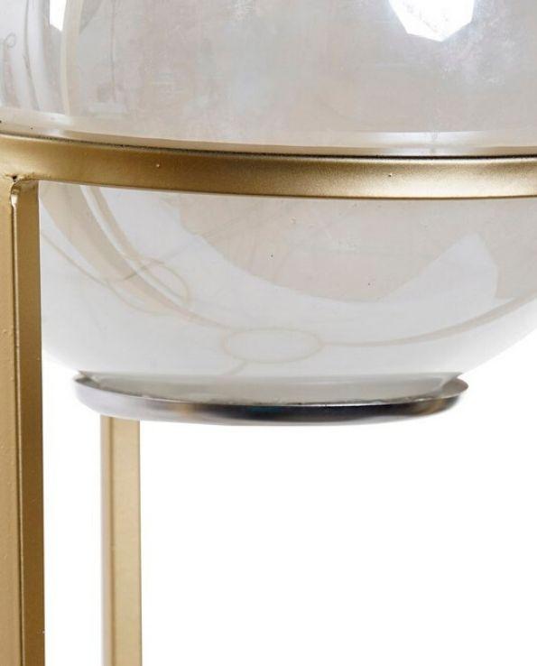 décoration lumineuse sphère sur socle grand modèle (2)
