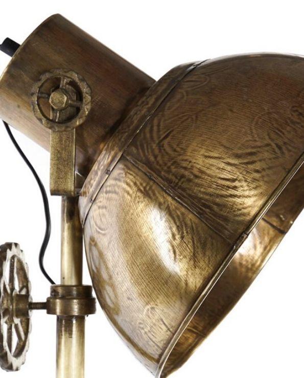 lampadaire tripod studio doré (4)