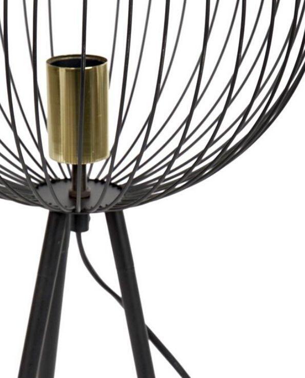lampe de table indu noir (3)