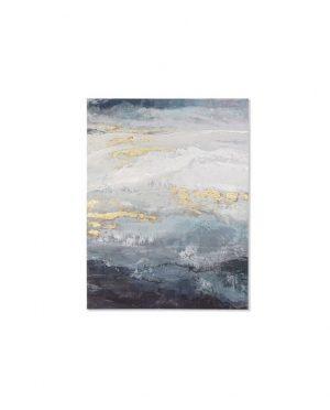 tableau toile abstrait 90x3,8x120