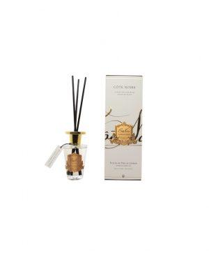 Diffuseur d'Ambiance en verre & crète or- Fragrance Fleur de Thé au Jasmin