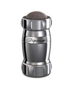 Dispenser Argent Saupoudreur Farine Sucre Marcato Design1