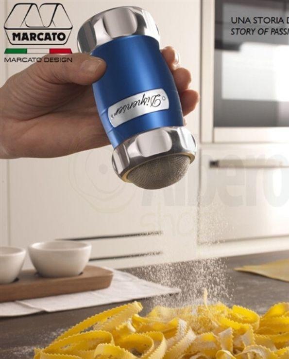 Dispenser Argent Saupoudreur Farine Sucre Marcato Design2