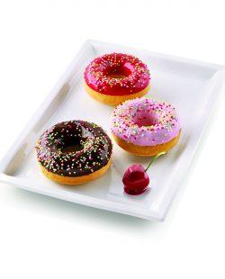 Moule en Silicone 6 Donuts ø7525 H28mm Silikomart2