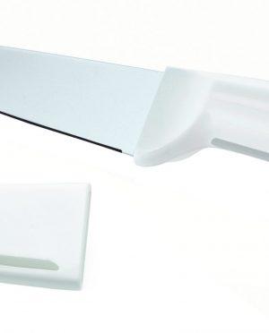 Couteau lame en Inox + Etui de protection Guzzini