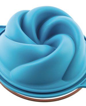 Moule-en-Silicone-Vertigo-bleu-ø180-H75mm-Silikomart2