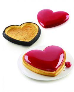 Kit tarte Cœur Mon Amour Silikomart1
