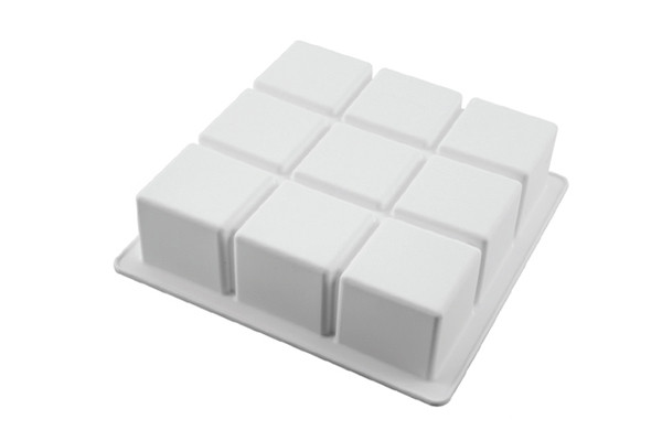Moule Cubik 17.2 x 17.2 x 5 cm Silikomart