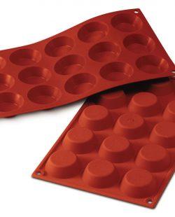 Moule-en-Silicone-15-Tartelettes-ø50-H15mm-Silikomart1