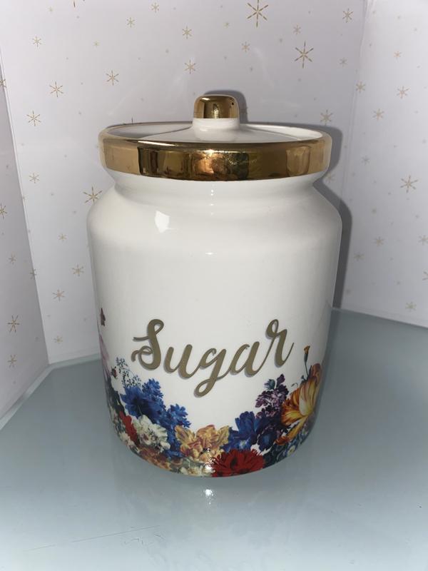 lot de 3 pot sucre